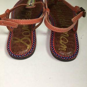 Sam Edelman Shoes - Sam Edelman Gigi Sandal Painted Saddle Tribal 7